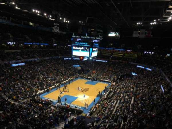 Chesapeake Energy Arena, Abschnitt: 329