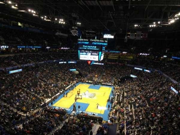 Chesapeake energy arena, Abschnitt: 330