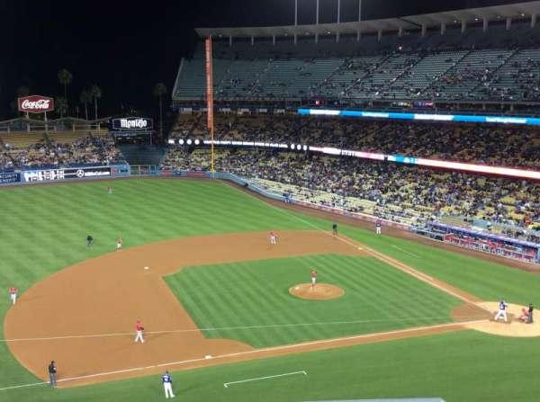Dodger Stadium, Abschnitt: 23RS, Reihe: E, Platz: 7