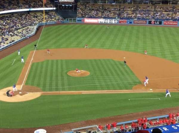 Dodger Stadium, Abschnitt: 10RS, Reihe: B, Platz: 6