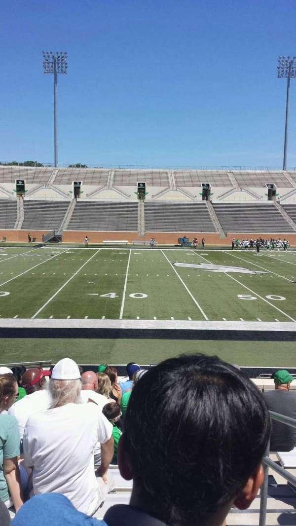 Apogee Stadium, Abschnitt: 106, Reihe: 12, Platz: 1