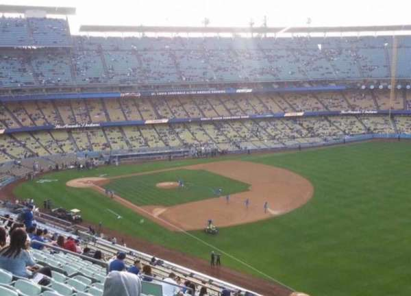Dodger Stadium, Abschnitt: 40RS, Reihe: J, Platz: 4