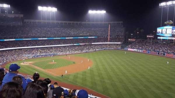 Dodger Stadium, Abschnitt: 40RS, Reihe: J, Platz: 17
