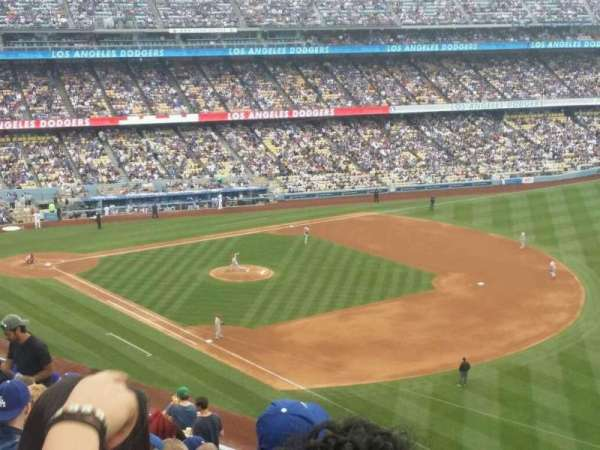 Dodger Stadium, Abschnitt: 40RS, Reihe: S, Platz: 21