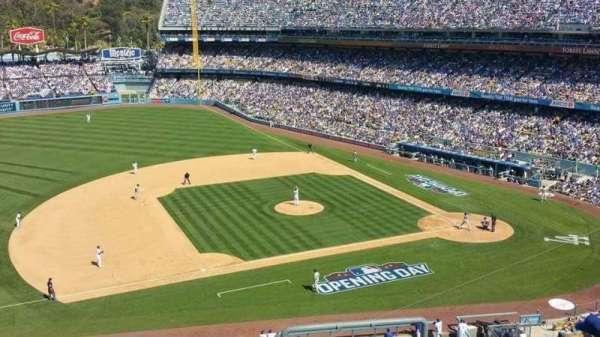 Dodger Stadium, Abschnitt: 23RS, Reihe: T, Platz: 4