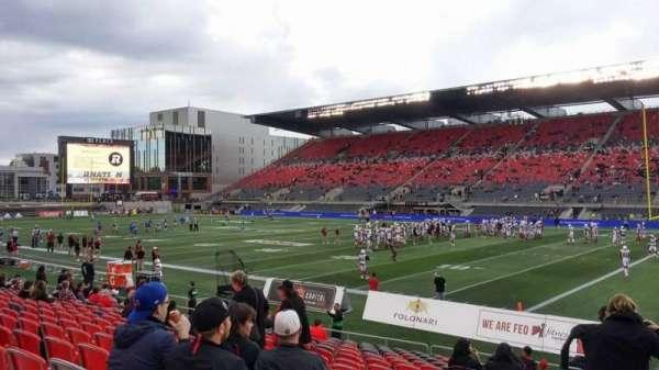 TD Place Stadium, Abschnitt: M, Reihe: 17, Platz: 20