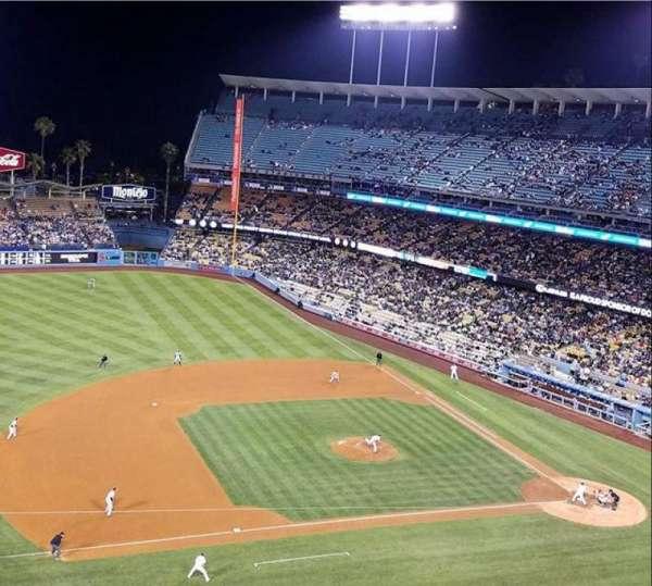 Dodger Stadium, Abschnitt: 23RS, Reihe: G, Platz: 7