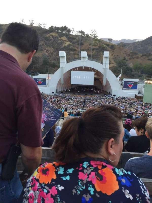 Hollywood Bowl, Abschnitt: M2, Reihe: 11, Platz: 120