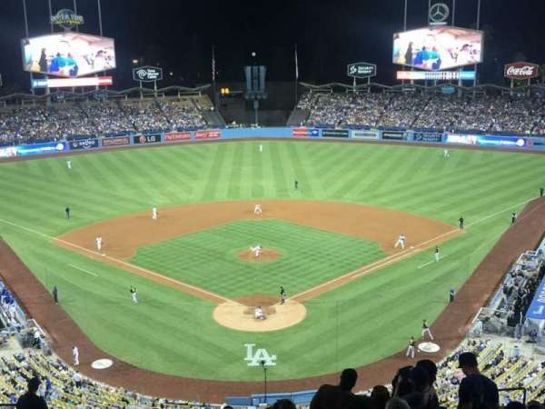 Dodger Stadium, Abschnitt: 1RS, Reihe: R, Platz: 11