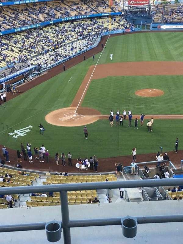 Dodger Stadium, Abschnitt: 10RS, Reihe: C, Platz: 6