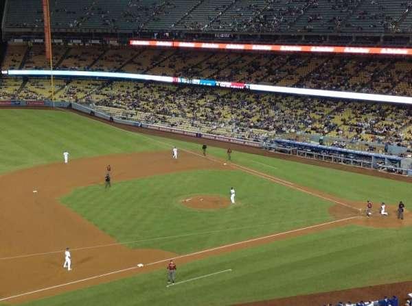 Dodger Stadium, Abschnitt: 23RS, Reihe: D, Platz: 22