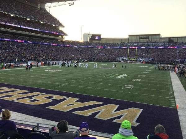 Husky Stadium, Abschnitt: 135, Reihe: 5, Platz: 14