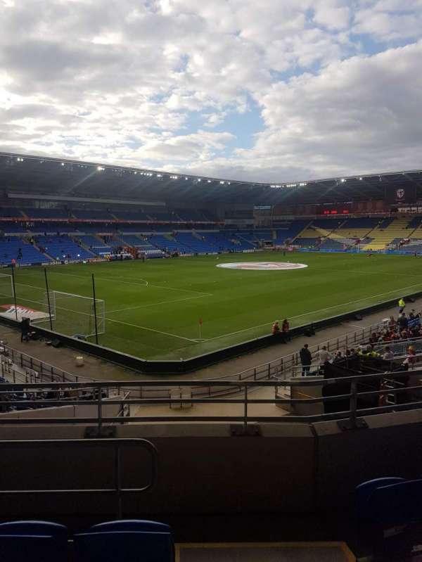 Cardiff city stadium, Abschnitt: 121, Reihe: Y, Platz: 57
