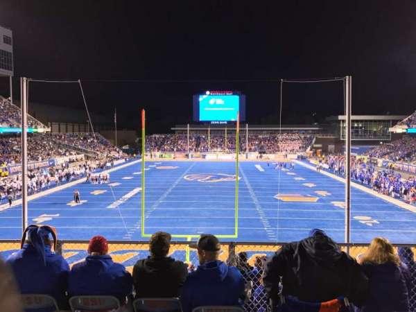 Albertsons Stadium, Abschnitt: 133, Reihe: B, Platz: 13