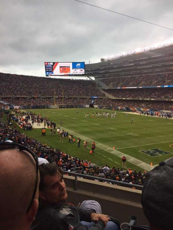 Soldier Field, Abschnitt: 228, Reihe: 3, Platz: 4