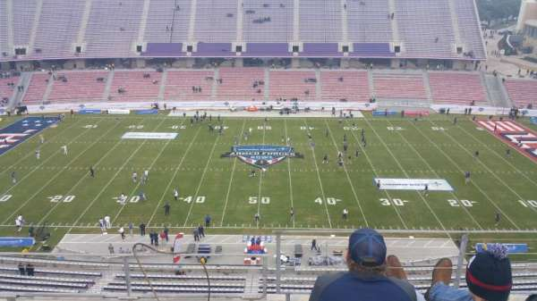 Amon G. Carter Stadium, Abschnitt: 306, Reihe: C, Platz: 8