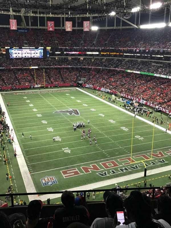 Georgia Dome, Abschnitt: 311, Reihe: 5, Platz: 2
