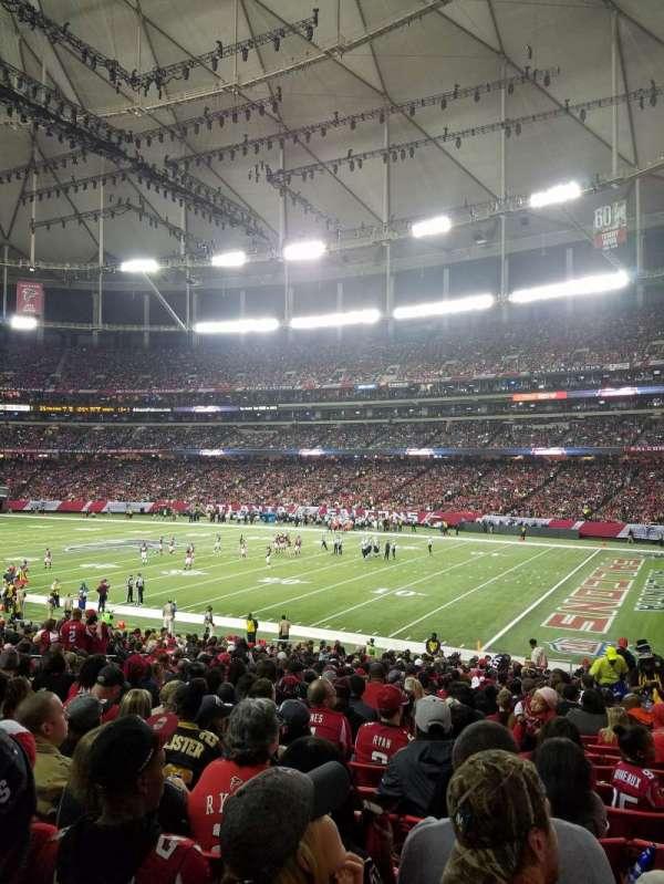 Georgia Dome, Abschnitt: 111, Reihe: 29, Platz: 15
