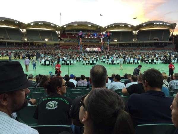 Adelaide Oval, Abschnitt: 135, Reihe: M, Platz: 37