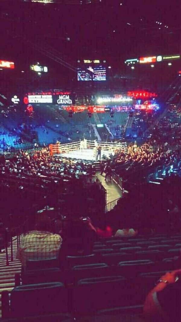 MGM Grand Garden Arena, Abschnitt: 19, Reihe: X, Platz: 20