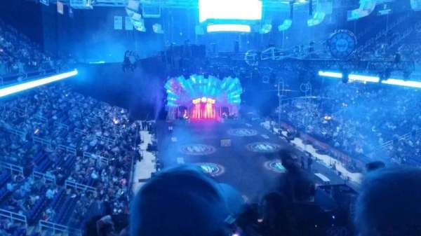 Greensboro Coliseum, Abschnitt: 220, Reihe: g, Platz: 1
