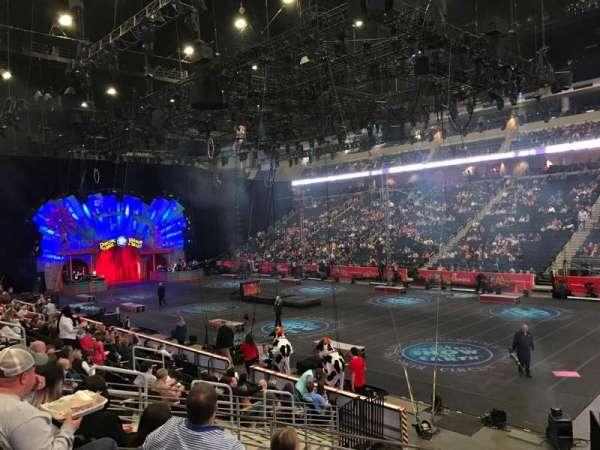 Infinite Energy Arena, Abschnitt: 121, Reihe: N