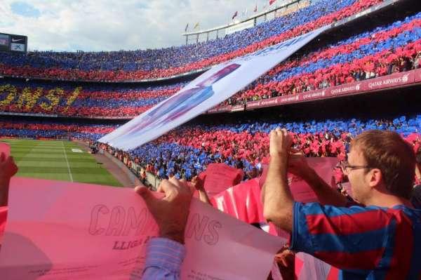 Camp Nou, Abschnitt: 123, Reihe: 7, Platz: 14
