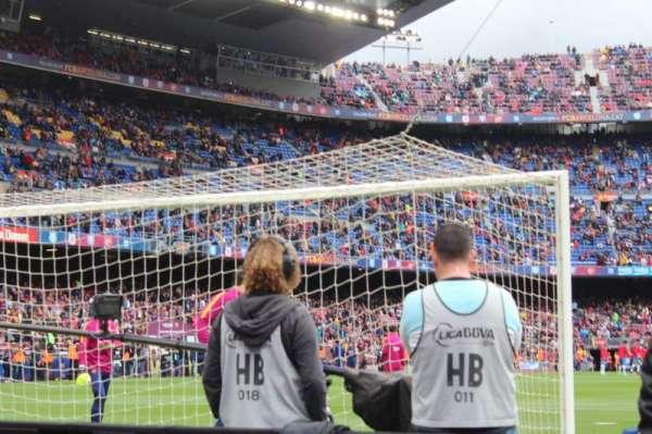 Camp Nou, Abschnitt: 123, Reihe: 2, Platz: 12