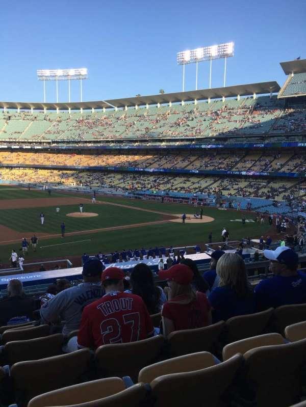 Dodger Stadium, Abschnitt: 137LG, Reihe: G, Platz: 6
