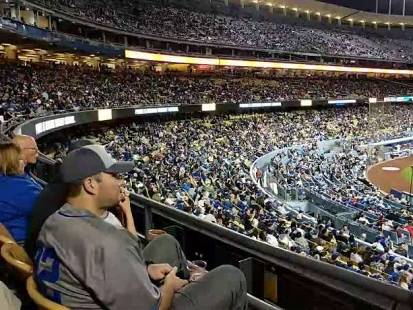 Dodger Stadium, Abschnitt: 116LG, Reihe: B, Platz: 2
