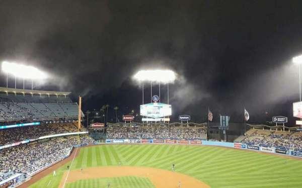 Dodger Stadium, Abschnitt: 10RS, Reihe: J, Platz: 2