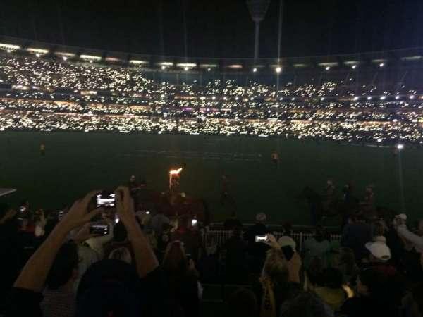 Melbourne Cricket Ground, Abschnitt: M46, Reihe: O, Platz: 9