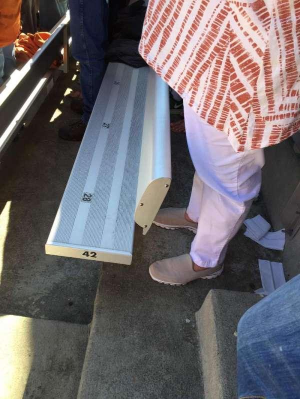Cotton Bowl, Abschnitt: 10, Reihe: 42, Platz: 28