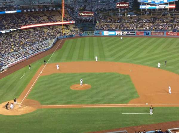 Dodger Stadium, Abschnitt: 10RS, Reihe: K, Platz: 18