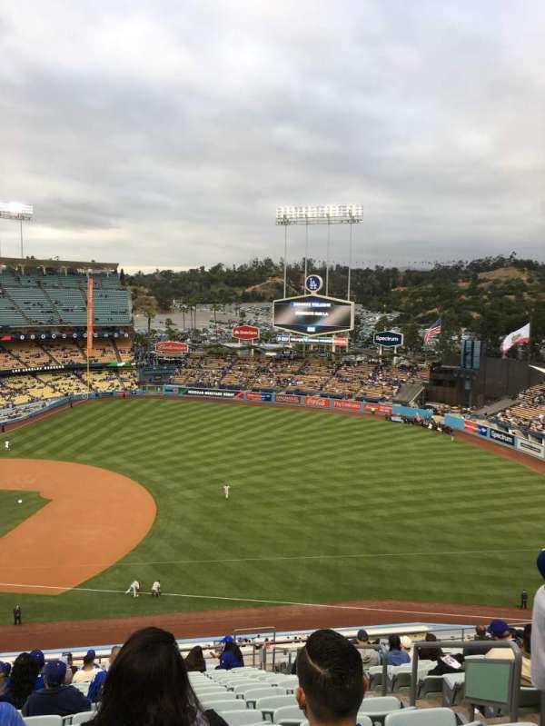 Dodger stadium, Abschnitt: 28RS, Reihe: U, Platz: 19