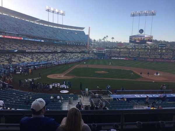 Dodger Stadium, Abschnitt: 126LG, Reihe: D, Platz: 2