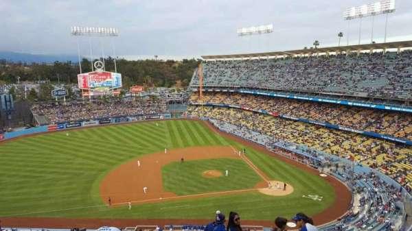 Dodger Stadium, Abschnitt: 17RS, Reihe: BB, Platz: 6