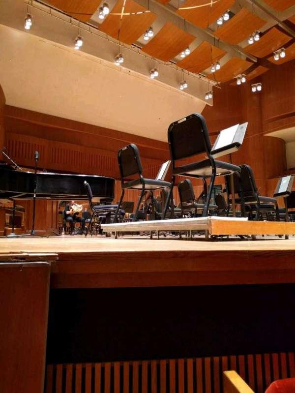 Joseph Meyerhoff Symphony Hall, Abschnitt: orchestra left, Reihe: C, Platz: 13