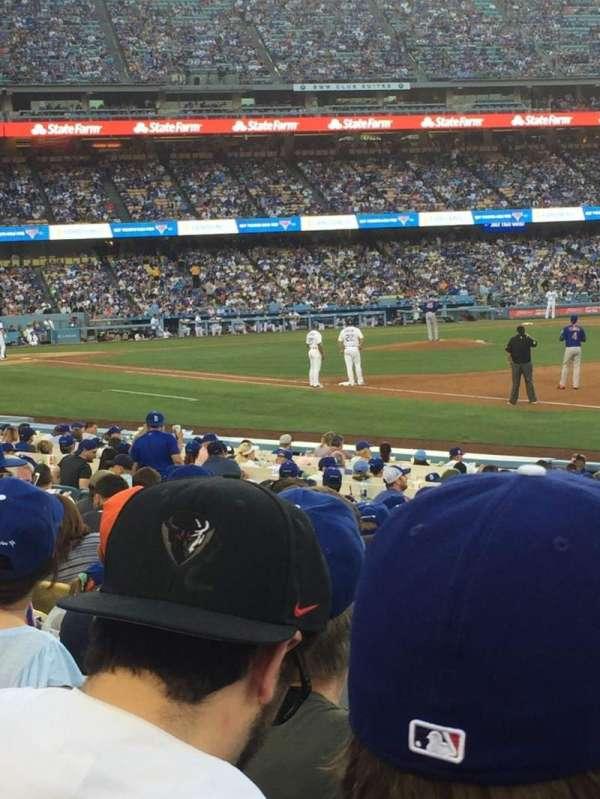 Dodger Stadium, Abschnitt: 36FD, Reihe: 11, Platz: 7