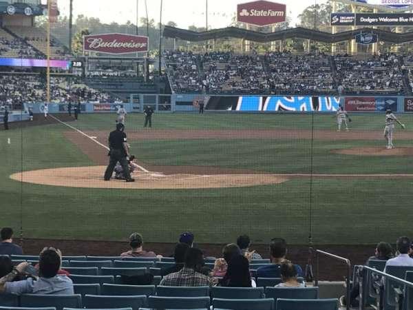 Dodger Stadium, Abschnitt: 8FD, Reihe: G, Platz: 7