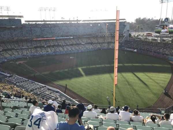 Dodger Stadium, Abschnitt: 52RS, Reihe: T, Platz: 10