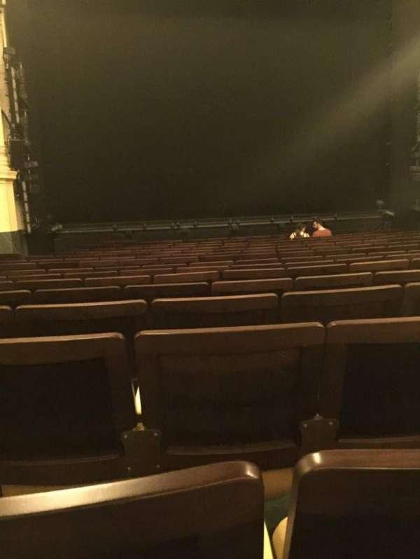 Hudson Theatre, Abschnitt: Orchestra C, Reihe: P, Platz: 103