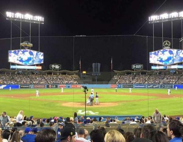 Dodger Stadium, Abschnitt: 2FD, Reihe: G, Platz: 3