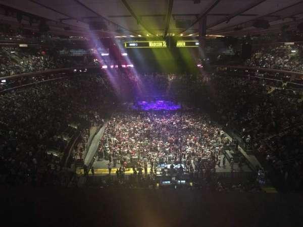Madison Square Garden, Abschnitt: 304, Reihe: 14, Platz: 1