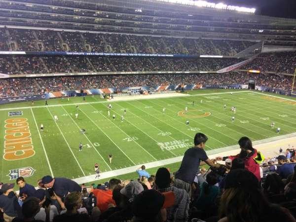 Soldier Field, Abschnitt: 342, Reihe: 15, Platz: 7