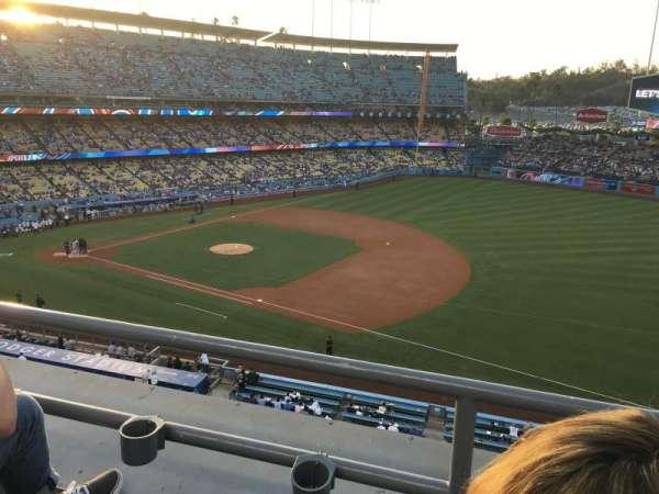 Dodger Stadium, Abschnitt: 28RS, Reihe: B, Platz: 20