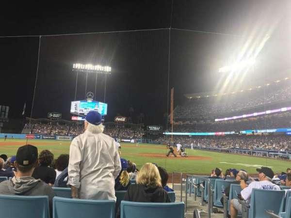 Dodger Stadium, Abschnitt: 9fd, Reihe: A, Platz: 3