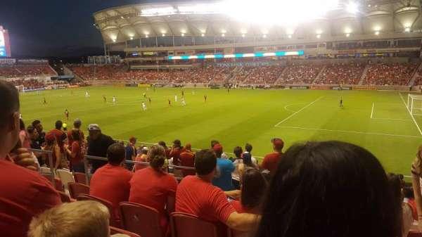 Rio Tinto Stadium, Bereich: 34, Reihe: Y, Platz: 22