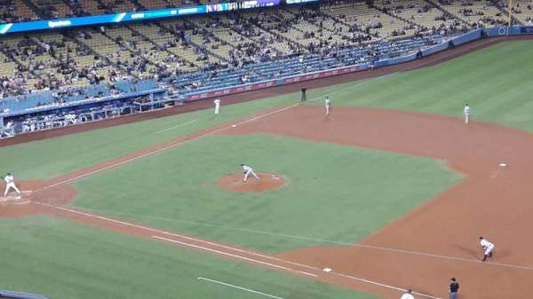 Dodger Stadium, Abschnitt: 28RS, Reihe: G, Platz: 8