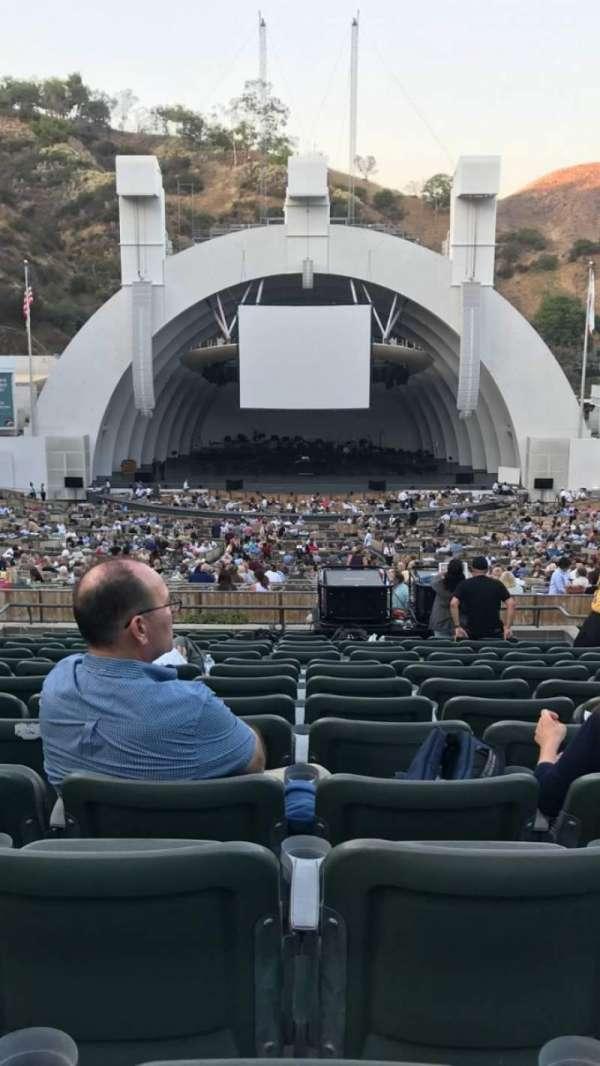 Hollywood Bowl, Abschnitt: H, Reihe: 15, Platz: 108